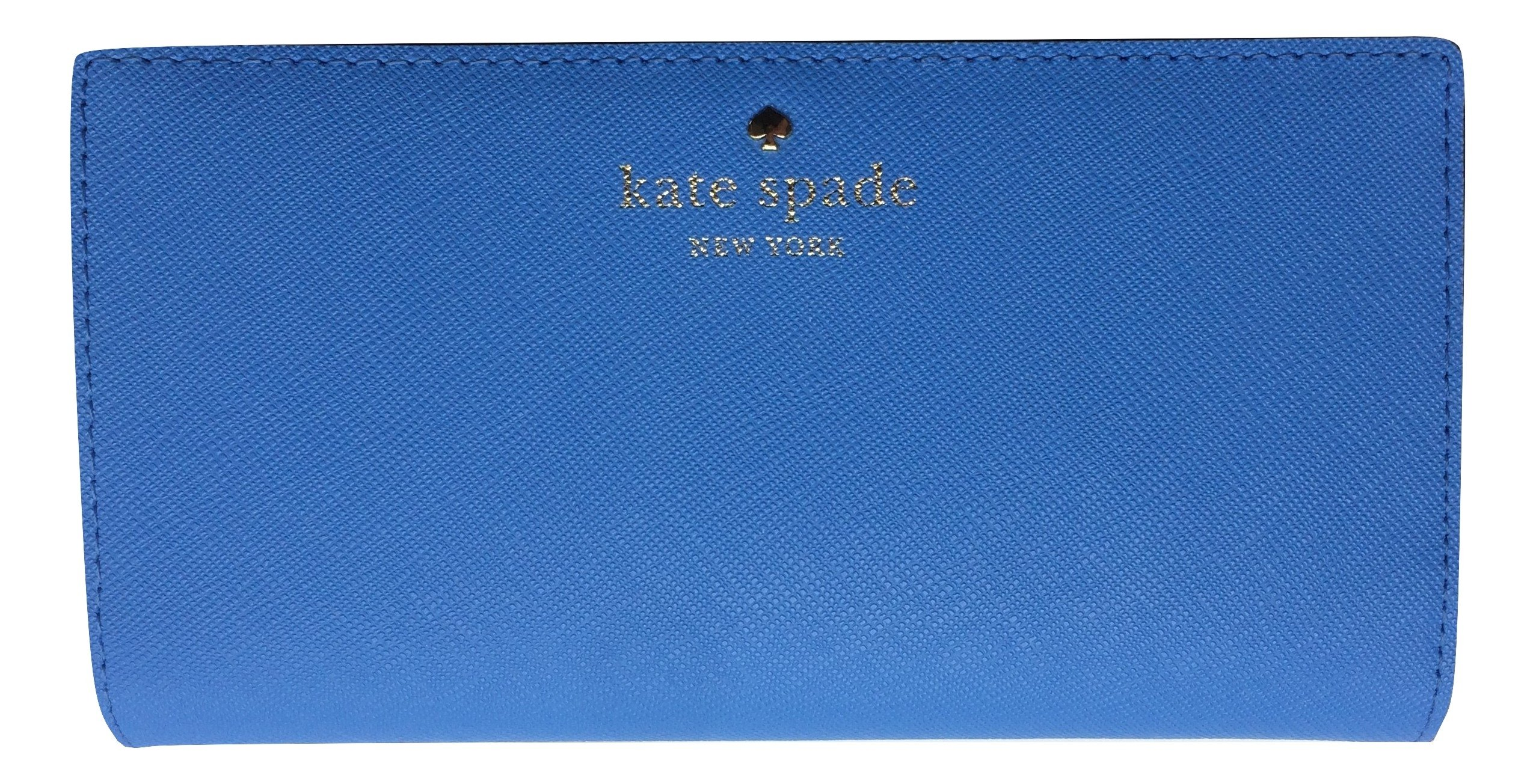 Kate Spade New York Mikas Pond Avenue Stacy Leather Wallet (Alice Blue)