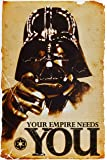 1art1 52077 Star Wars - Empire Needs You Poster 91 x 61 cm