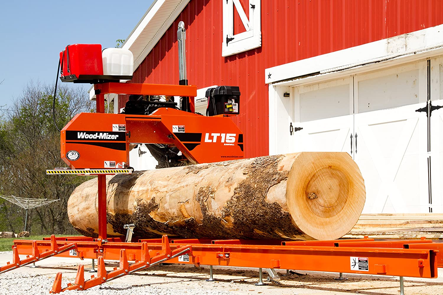 Wood-Mizer LT15 Portable Sawmill with 19 HP Gas Engine