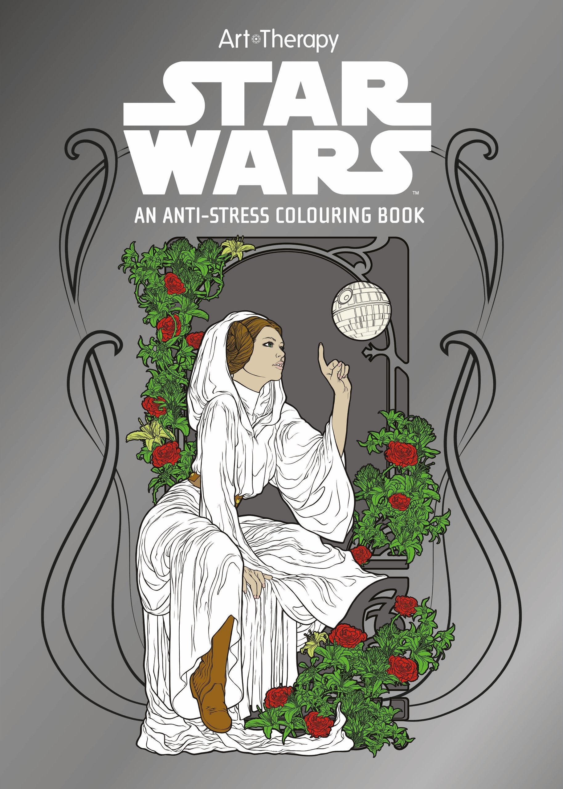 Star Wars Art Therapy Colouring Book Books Amazoncouk Lucasfilm 9781405279918