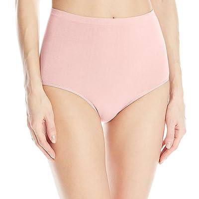 Ahh By Rhonda Shear Women's Cotton Blend Seamless Panty at Amazon Women's Clothing store