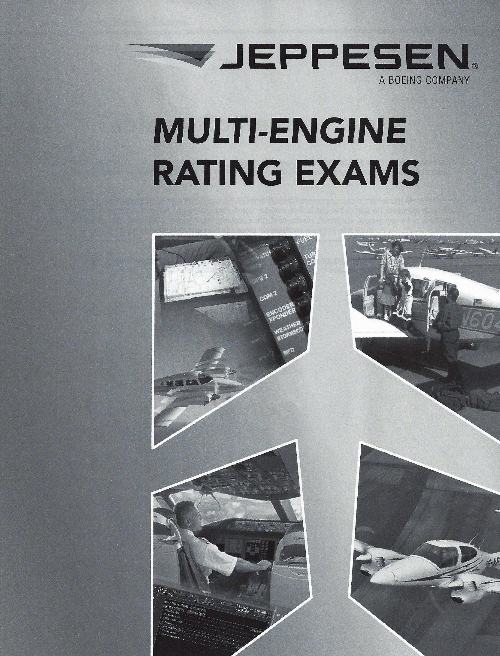Jeppesen Multi-Engine Exam Package PDF