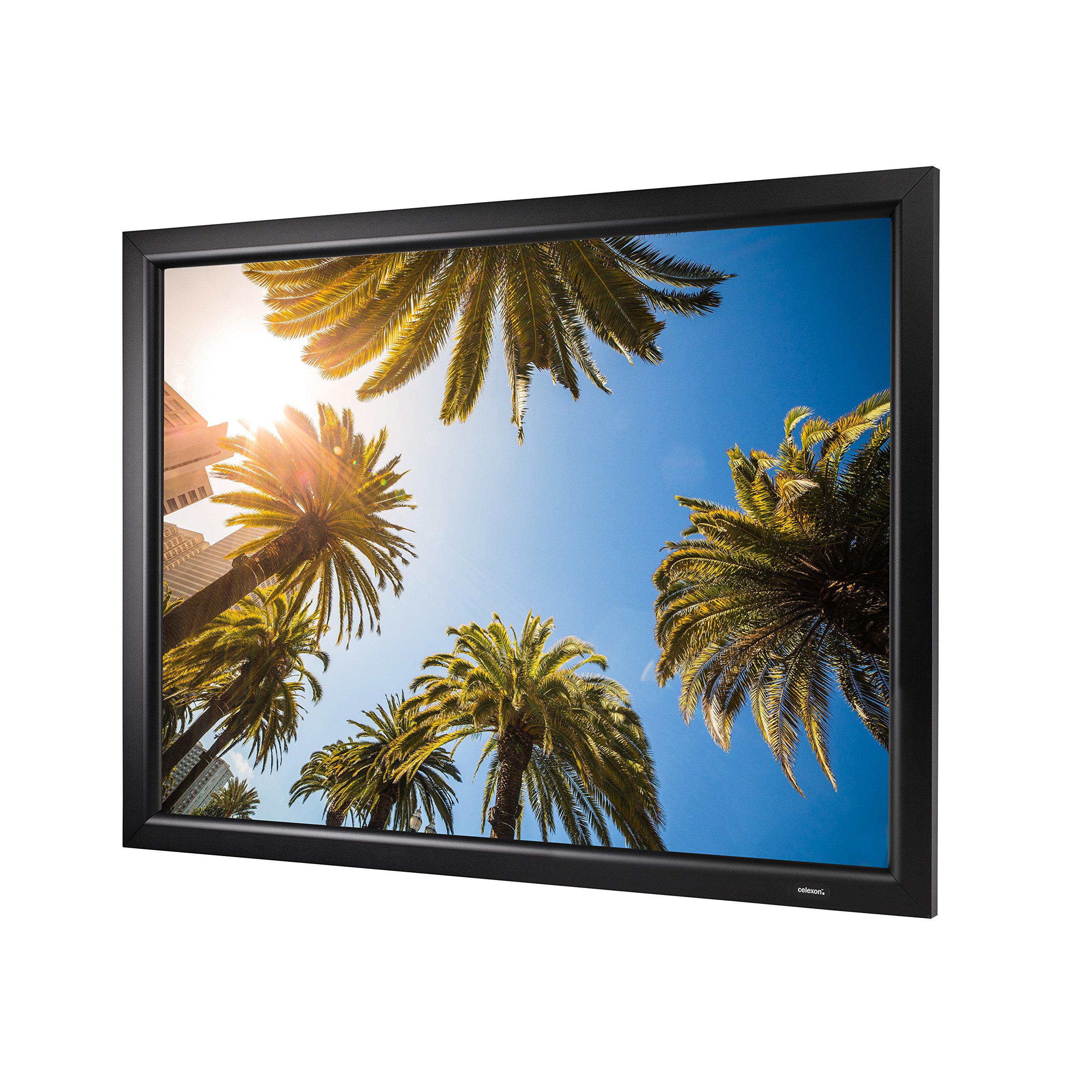 """celexon 90"""" Home Cinema Fixed Frame Projector Movie Screen 