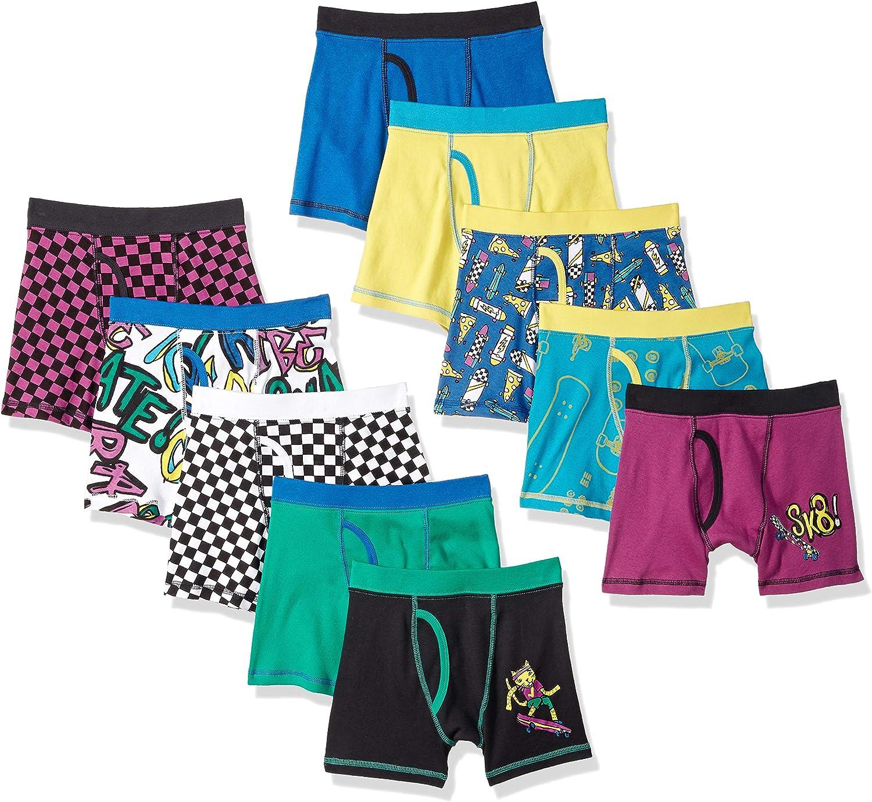 Brand Spotted Zebra Boys Toddler /& Kids 10-Pack Brief Underwear