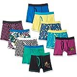 Amazon Brand - Spotted Zebra Boys Cotton Boxer Briefs Underwear