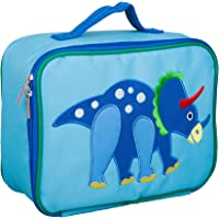 Wildkin Kids Insulated Embroidered Lunch Box for Boys and Girls, Perfect Size for Packing Hot or Cold Snacks for School…