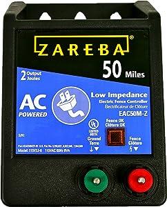 Zareba EAC50M-Z AC-Powered Low-Impedence 50-Mile