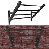 We R Sports® Wall Mounted Flying Pull Up Bar Rig Monkey Bar Strength Training