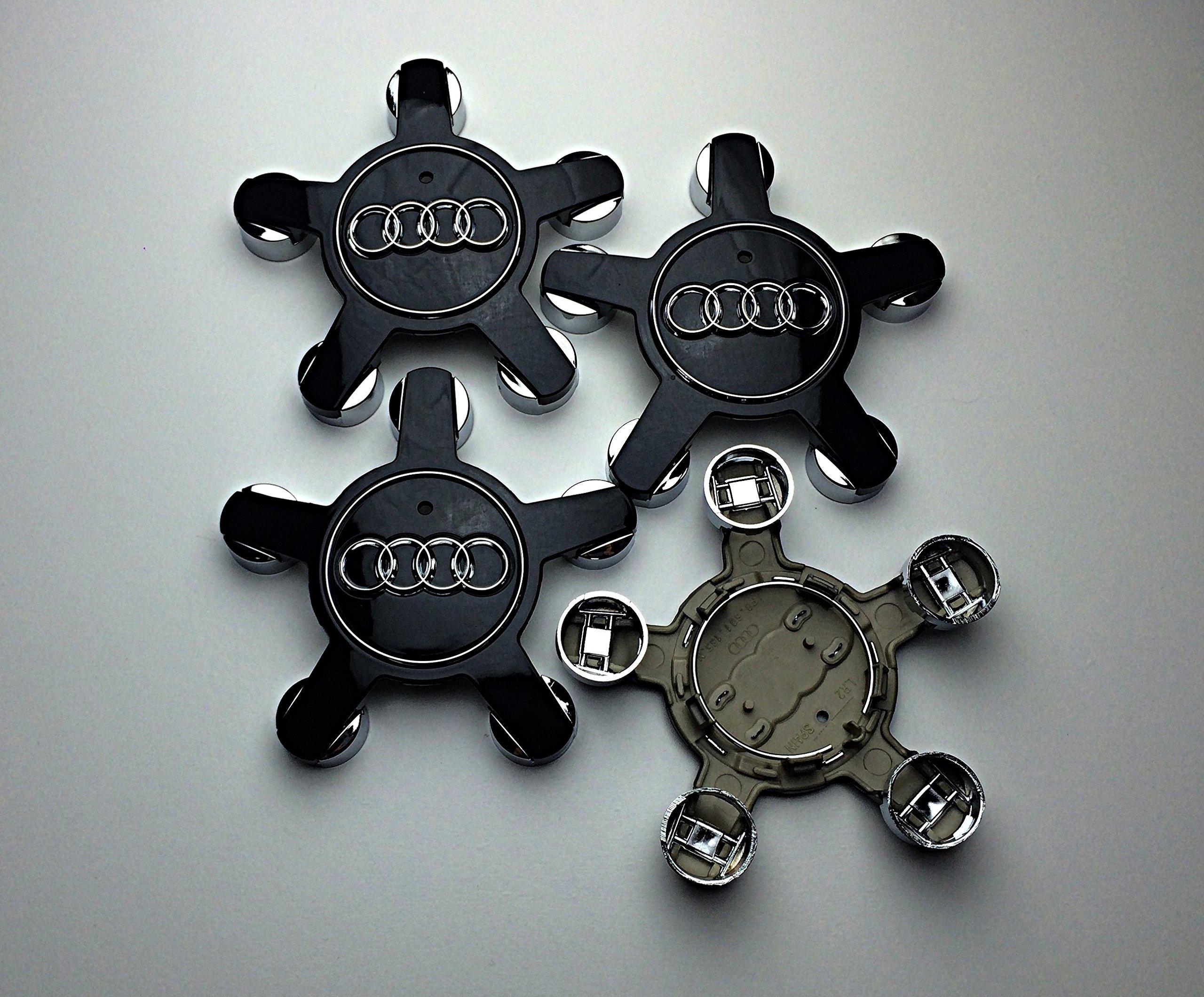 Genuine Audi Wheel Center Cap 4F0-601-165-N
