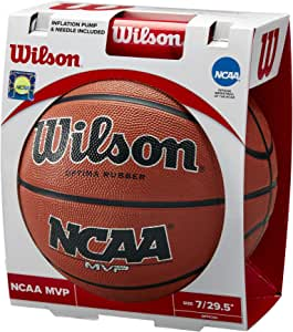 Amazon.com: Wilson Sporting Goods NCAA MVP - Balón de ...