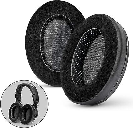 Amazon Com Brainwavz Hybrid Memory Foam Earpad Black Pu Velour Suitable For Large Over The Ear Headphones Akg Hifiman Ath Philips Fostex Electronics