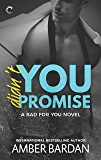Didn't You Promise: A Bad Boy Billionaire Romance (A Bad for You Novel)