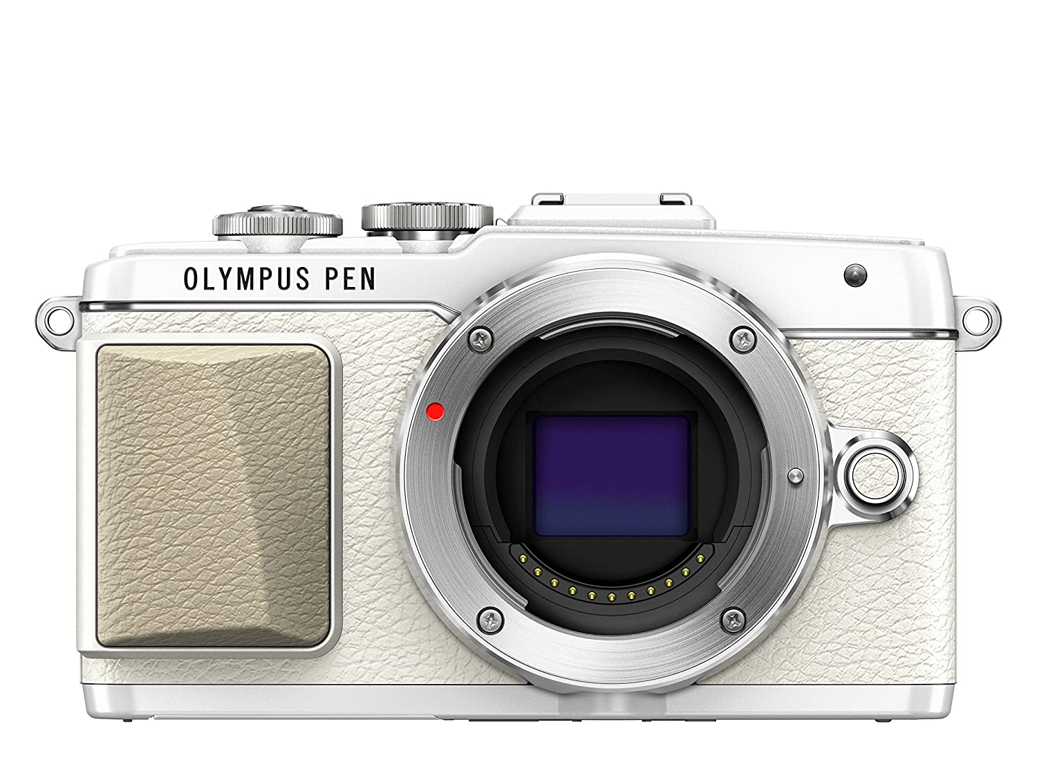 Olympus Pen E Pl7 Interchangeable Lens Camera (16.1 Mp, 3.0 Inch Touchscreen Lcd)   White by Amazon