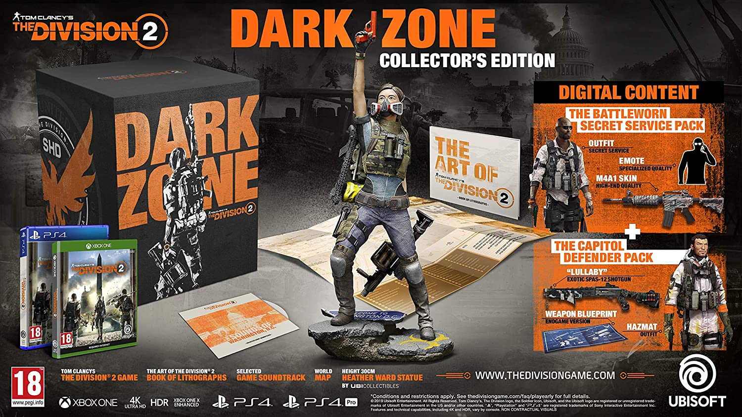 Tom Clancys The Division 2 The Dark Zone Edition - PlayStation 4 ...