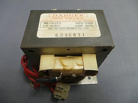 Samsung db-5360t microondas transformador: Amazon.es ...