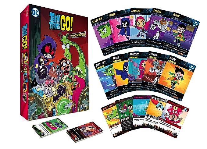 Amazon.com: Cryptozoic Entertainment Teen Titans Go Dbg ...