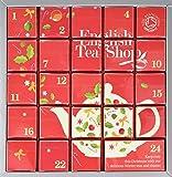 English Tea Shop Organic Pink Advent Calendar 24 Silken Pyramid Bags (Pack of 2)