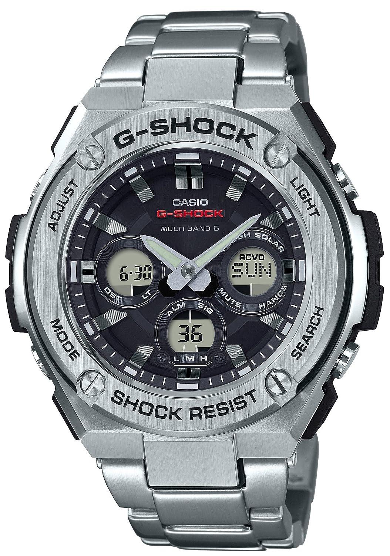[カシオ]CASIO 腕時計 G-SHOCK ジーショック G-STEEL 電波ソーラー GST-W310D-1AJF メンズ B07238WLBF