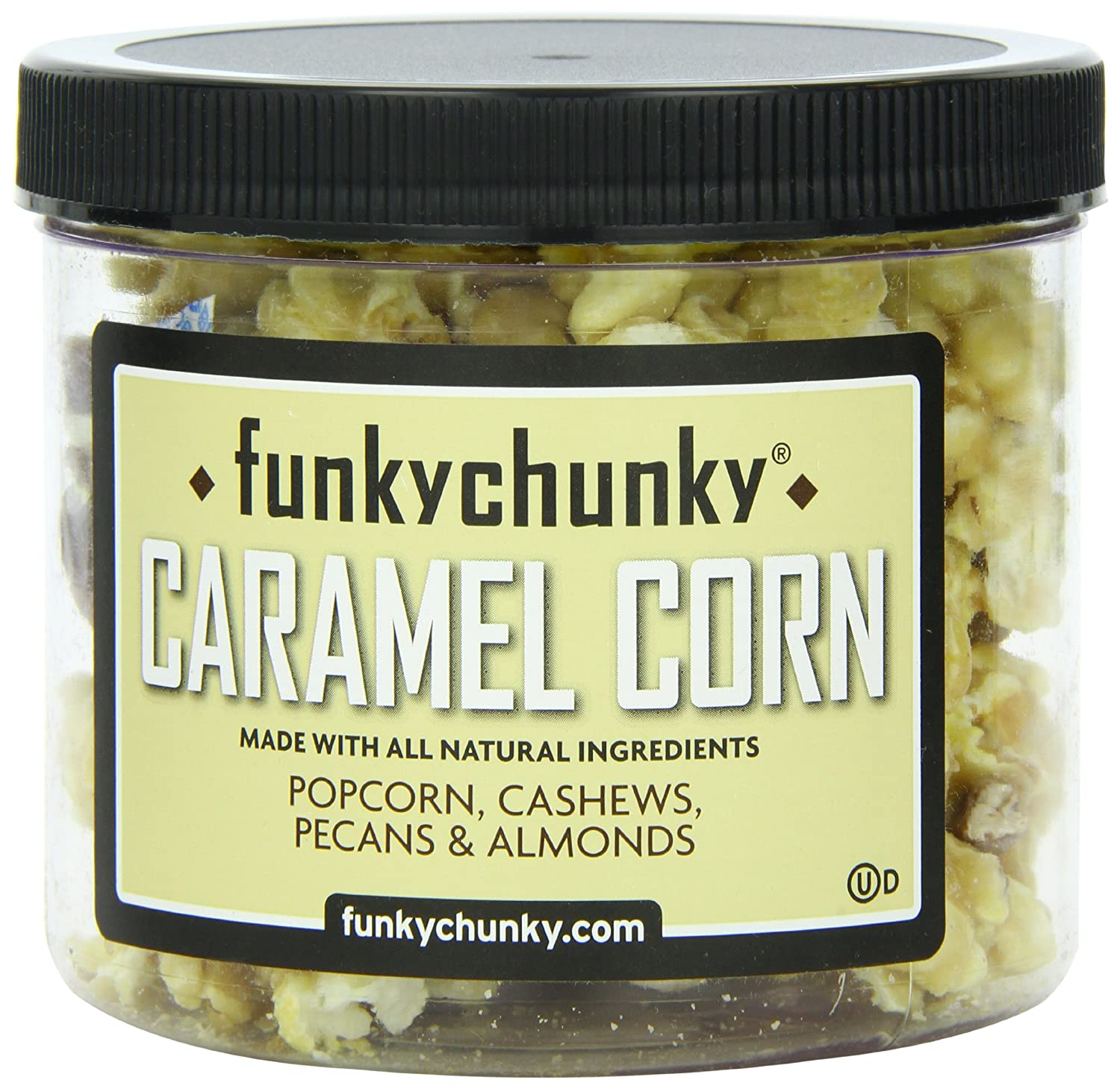 FunkyChunky Mini Caramel Corn, 6-Ounce Canisters (Pack of 2)