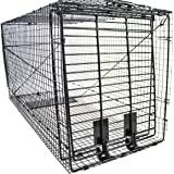 "Humane Way 914050 Heavy Duty Live X-Large Dog Trap, X 50""x19""x24"