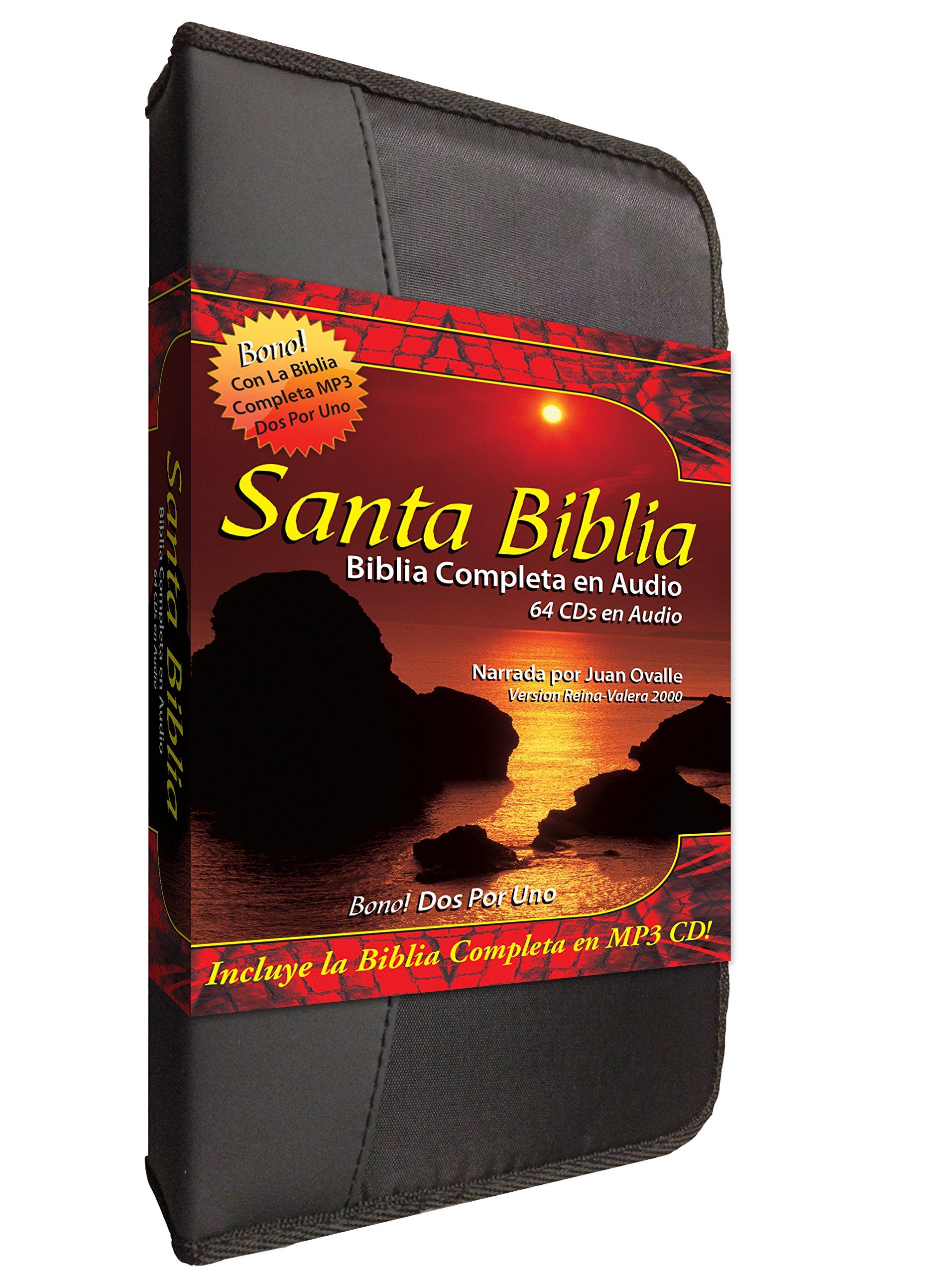 Santa Biblia Complete Reina Valera en 64 Audio CD Plus una Reina Valera 2000 Completa-Completa en MP3 Discs-Two Complete Biblias Español Reina Valera . ...