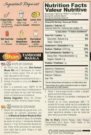 Amazon.com : Shan Tandoori Chicken BBQ Mix 1.75 Oz (Pack of 2) : Indian Food : Grocery & Gourmet Food