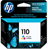 HP 110 Tri-color Original Ink Cartridge (CB304AE)