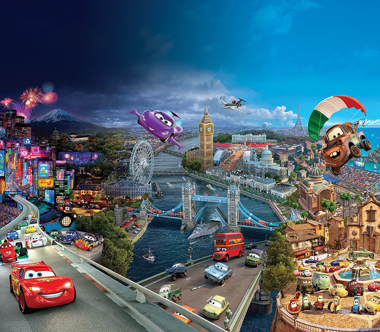 AG Design Rideaux – Cars Disney – Rideaux Photo – Impression Photo ...