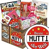 BESTE MUTTER GESCHENKBOX Ausgewählte Süßigkeiten in schicker DDR-Box - Liebesperlenfläschchen, Othello Keks Wikana, Bonbons Bodeta Himbeere, uvm. +++ INKLUSIVE handlichem Kochbuch im A6 Format mit Rezepten aus der DDR zum Nachkochen +++ als Geschenkbox und Präsentkorb für echte (N)Ostlagiker und DDR-Wiederentdecker und die BESTE MUTTI Geschenkideen Valentinstag für MUTTI Valentinstagsgeschenk für Sie Geschenkideen für MUTTI Valentinstag Geschenkeset für Sie zum Valentinstag