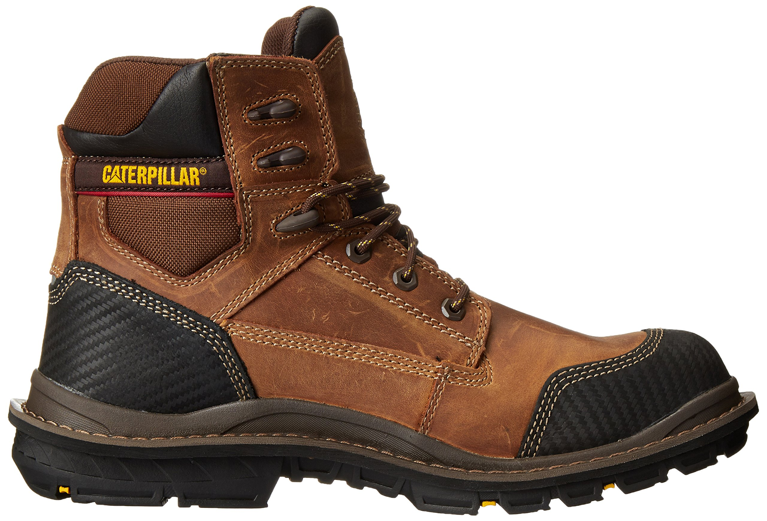 Caterpillar Men's Fabricate 6 Inch Tough Waterproof Comp Toe Work Boot, Brown, 14 M US by Caterpillar (Image #7)