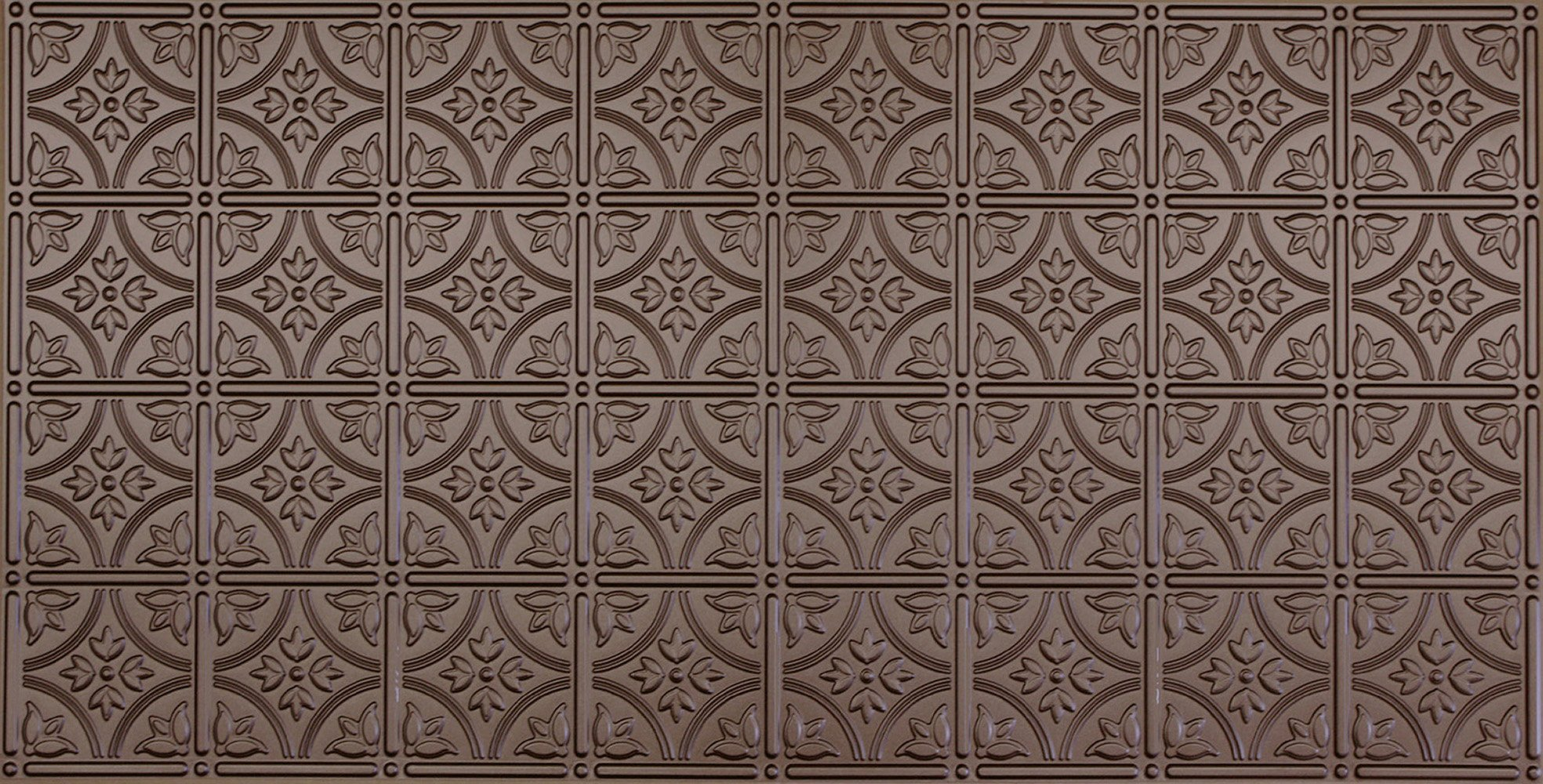 Global Specialty Products 209-03 Traditional Tin Style Panels For Glue-Up Installation, Metallic Bronze by Global Specialties