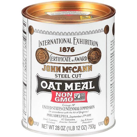 McCanns Harina de avena irlandesa cortada en acero (Pack de ...