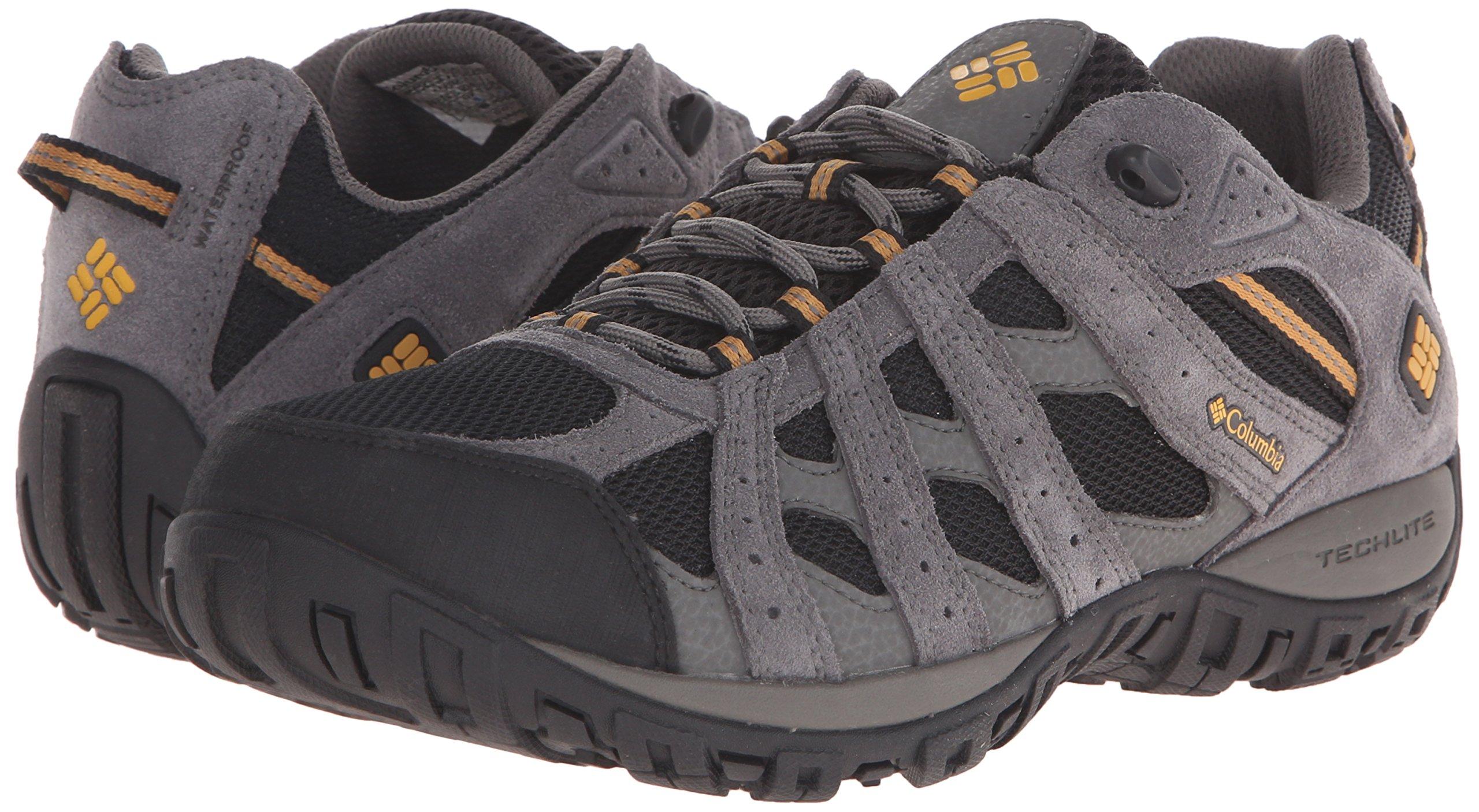 Columbia Men's Redmond Waterproof Hiking Shoe Black, Squash 7.5 D US by Columbia (Image #6)