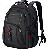 KROSER Travel Laptop Backpack 17 Inch Large Computer Backpack Stylish College Backpack with USB Charging Port & RFID…
