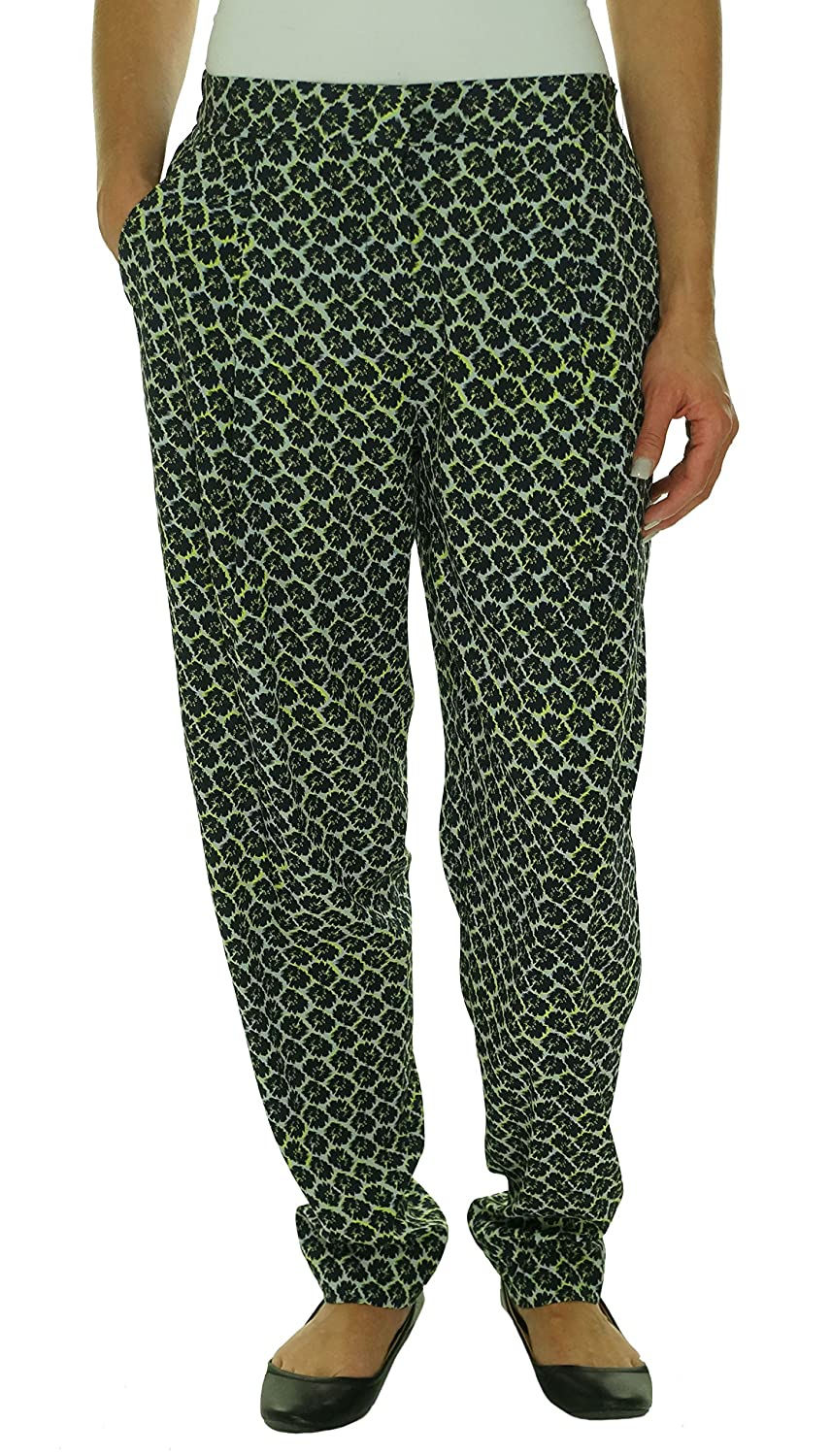 DKNY Floral Print Crepe Trouser