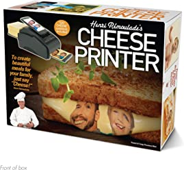 "Prank Pack""Cheese Printer"" - Wrap Your Real Gift in a Funny Joke Gift Box - by Prank-O"