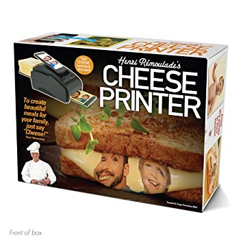 Prank Pack Cheese Printer Wrap Your Real Gift In A Prank Funny Gag Joke Gift Box By Prank O
