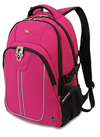 Amazon.com: SwissGear SA3192 Pink with Black Computer Backpack ...