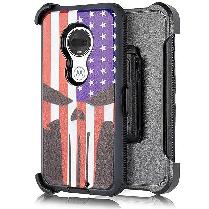 Amazon.com: Funda para Moto G7 Power Case, con [protector de ...