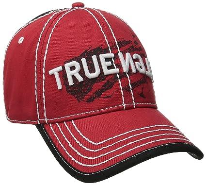 907ec3c7 Amazon.com: True Religion Men's Religion USA Baseball Cap, True Red ...
