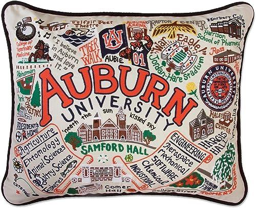 Catstudio Auburn University Collegiate Embroidered Decorative Throw Pillow