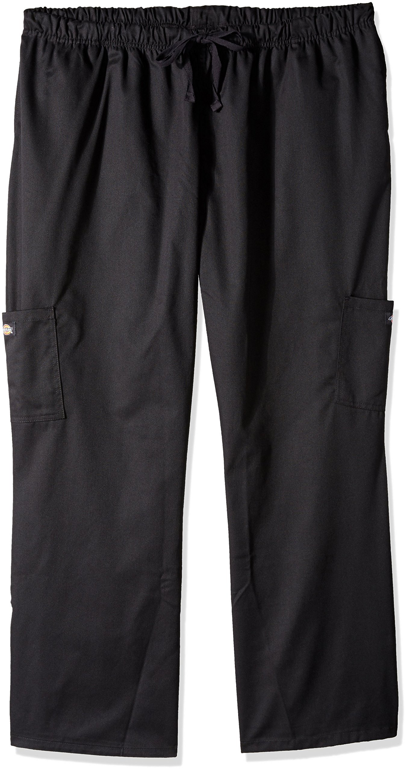 Dickies Chef Women's Plus Size Pants, Black, 4/X-Large
