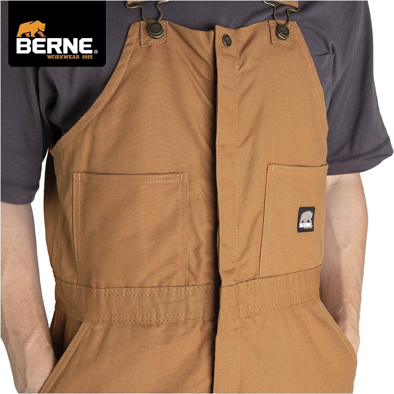 Berne Mens Big /& Tall Original Washed Insulated Bib
