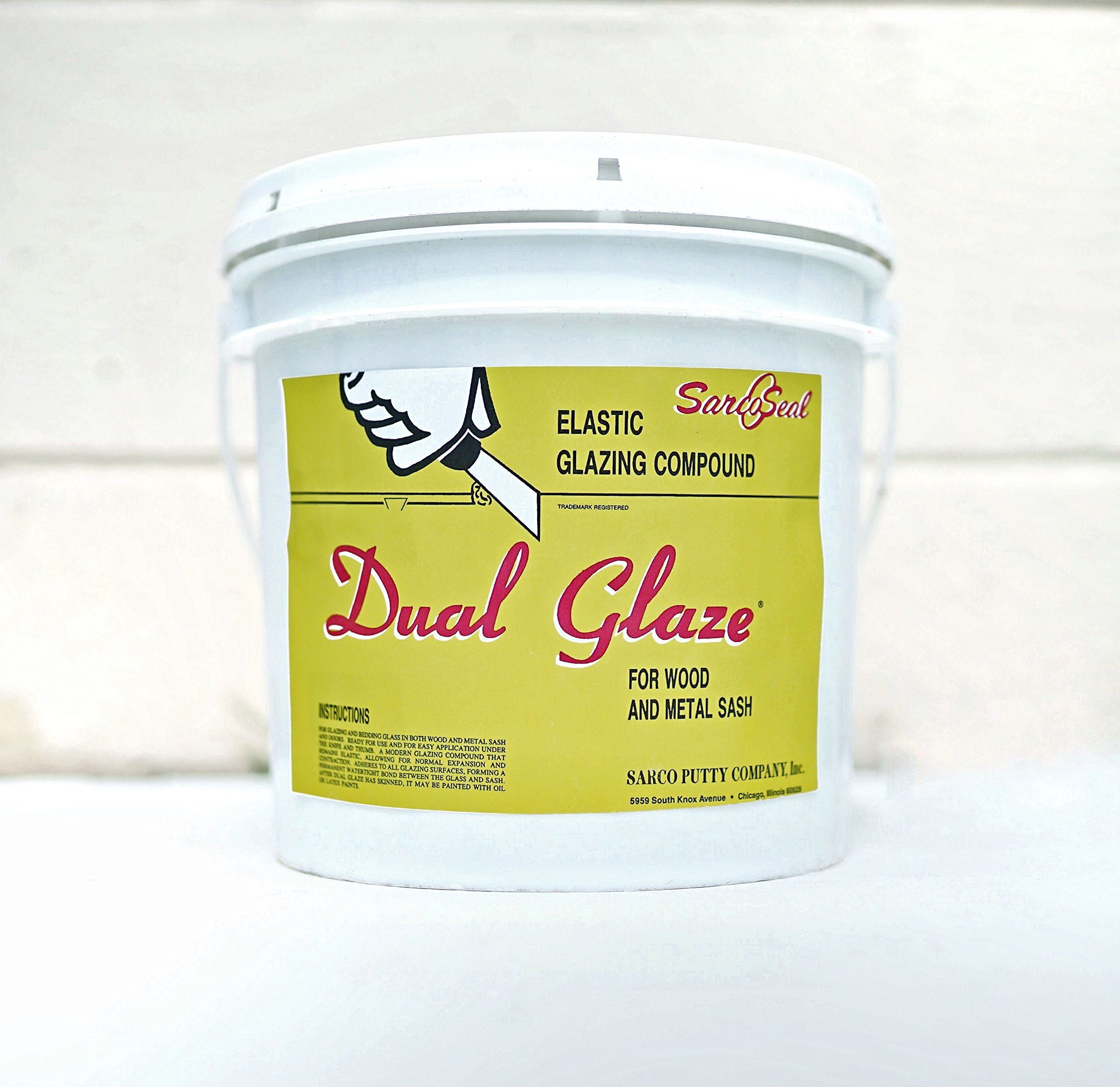 Sarco Dual Glaze Putty (Gallon)