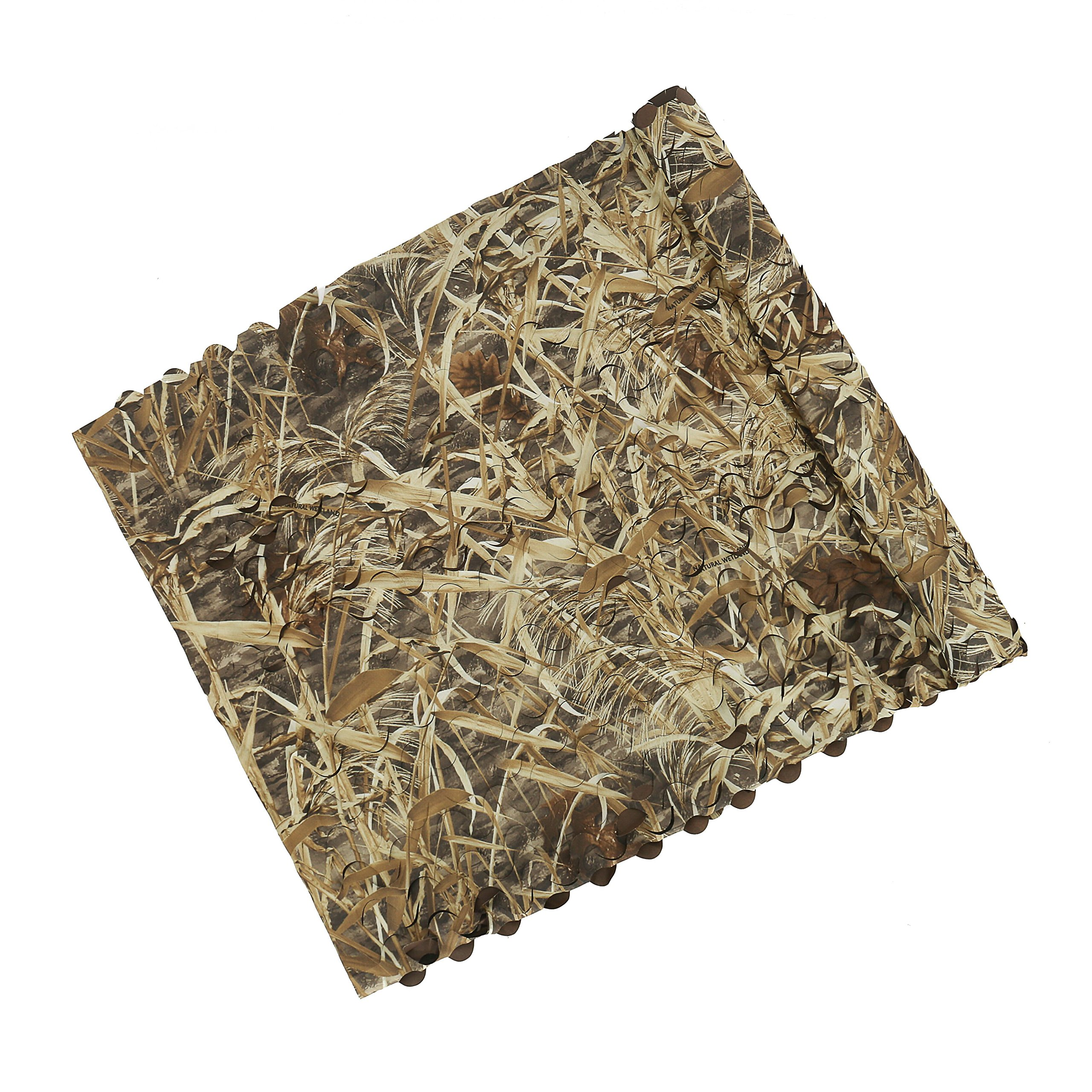 Auscamotek Duck Blind Material Camo Netting for Waterfowl Hunting Boat Camouflage Nets Dry Grass Pattern 5ft×13ft by Auscamotek