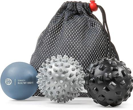 SUPVOX Magnetic Acupressure Balls Hedgehog Ball Massage Ball for Back Legs Feet