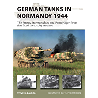 German Tanks in Normandy 1944: The Panzer, Sturmgeschütz and Panzerjäger forces that faced the D-Day invasion (New…