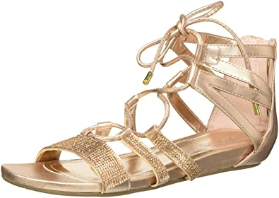 1b9e802564c Kenneth Cole REACTION Women s 7 Lost Look Gladiator Laceup Sandal