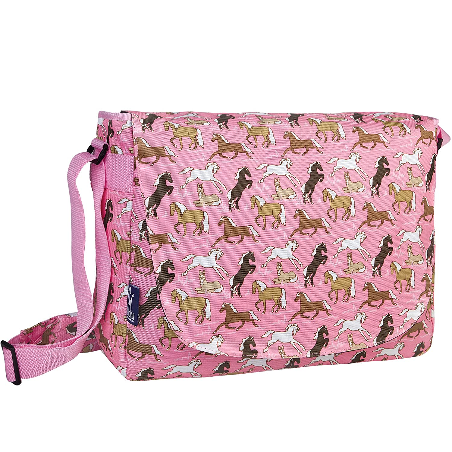 Wildkin Horses in Pink Laptop Messenger Bag by Wildkin  Horses in Pink B004N8D0ZM