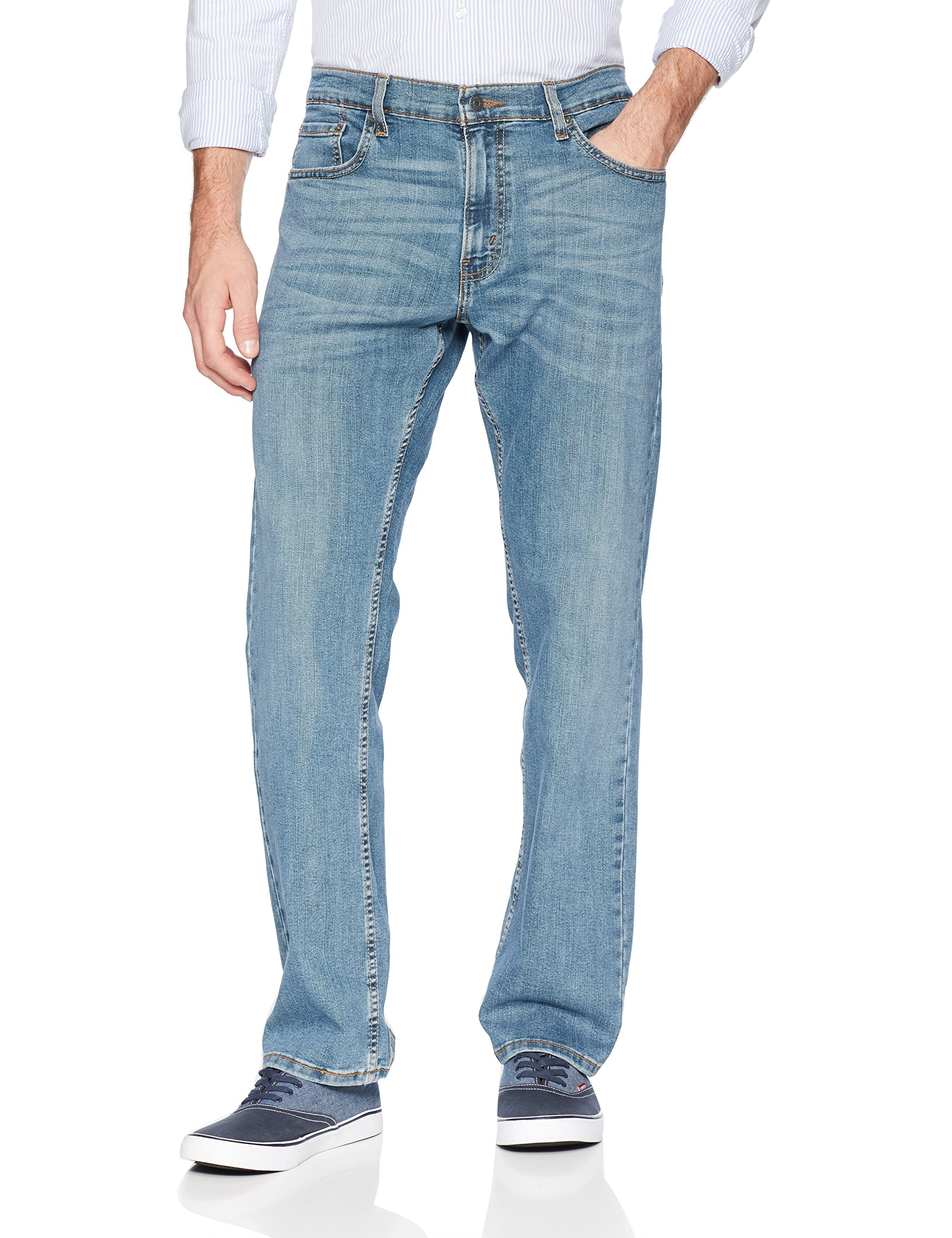 Signature by Levi Strauss & Co. Gold Label Men's Relaxed Fit Jeans, Titan, 40W x 32L